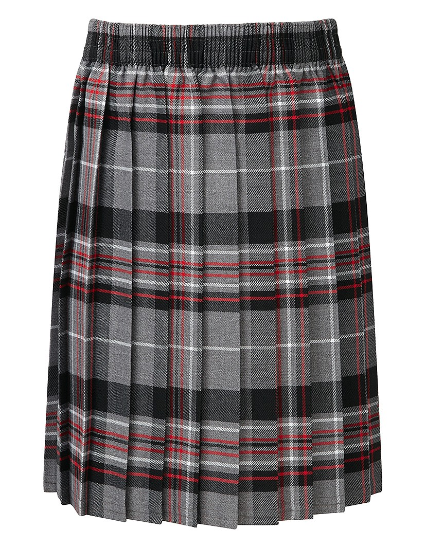 Grey Skye Tartan Skirt