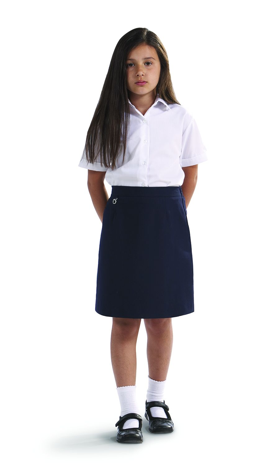 Amber school skirt navy
