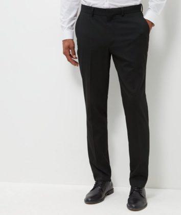 Aspire slim leg trouser black