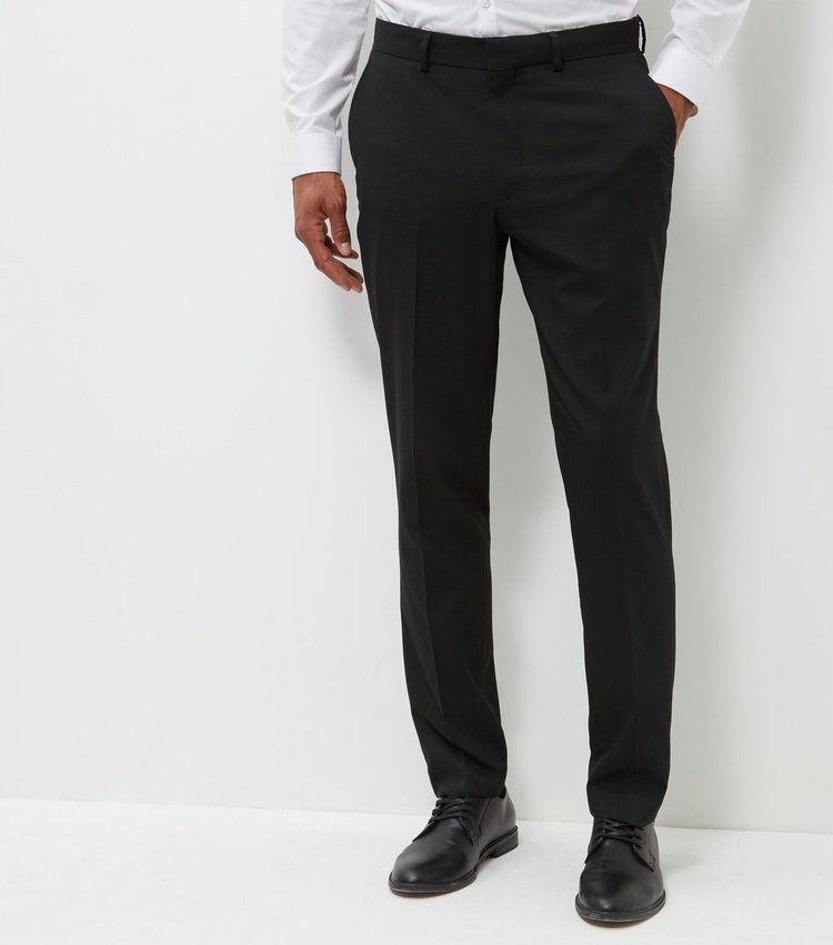 Aspire slim leg trouser black
