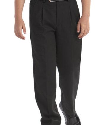 Sturdy Fit Black Trouser