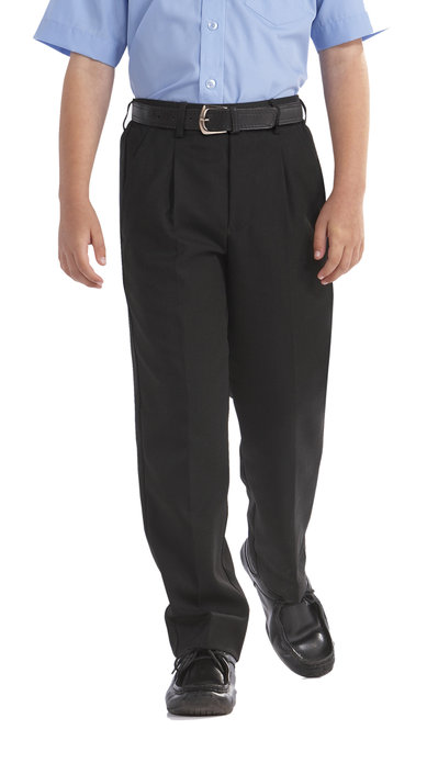 Sturdy Fit Black Trouser