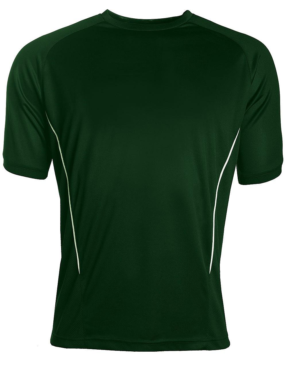 Aptus green and white training top