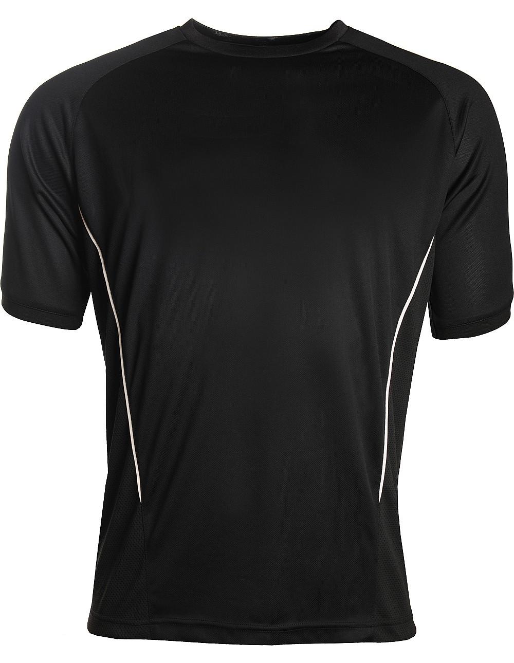 black/white training top by Aptus sports