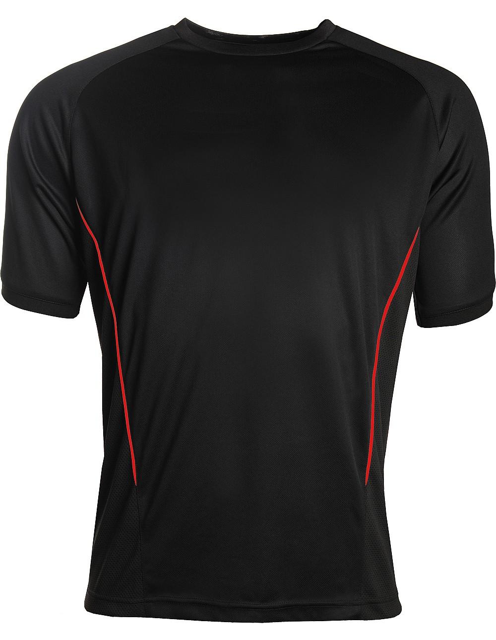 Aptus black red Training top