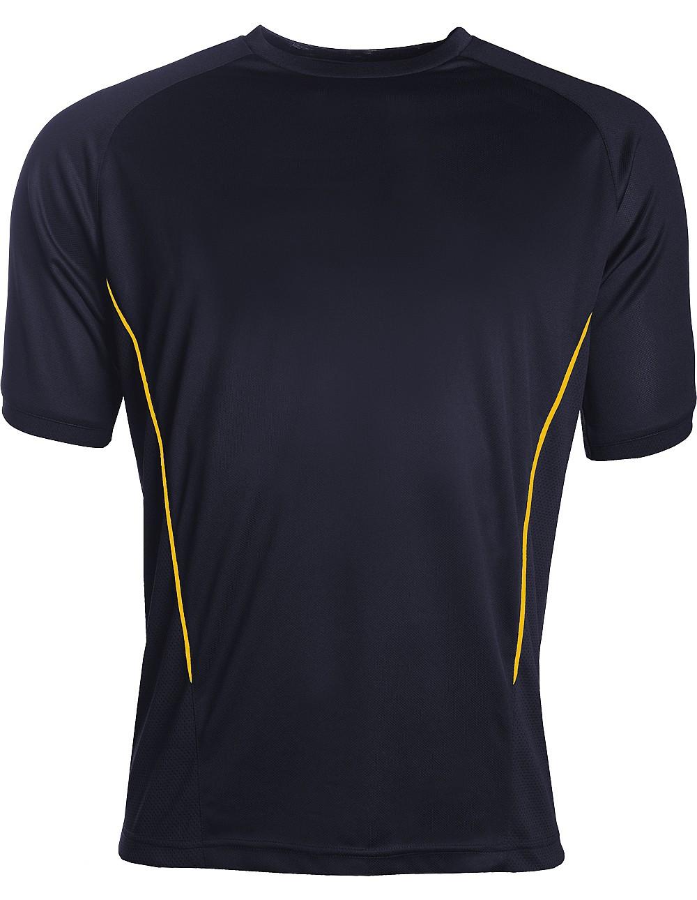 Aptus training top navy/gold