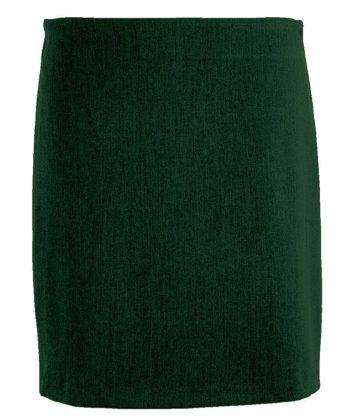 Bottle green Tube skirt