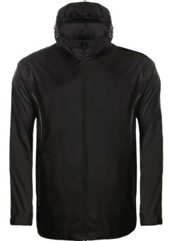 Aptus black rain jacket