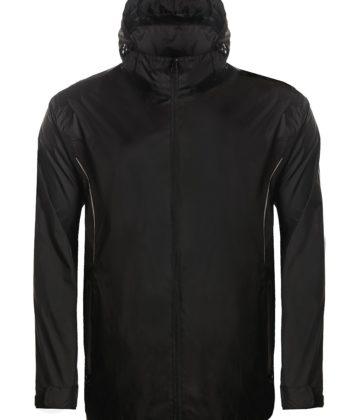 Aptus black rain jacket