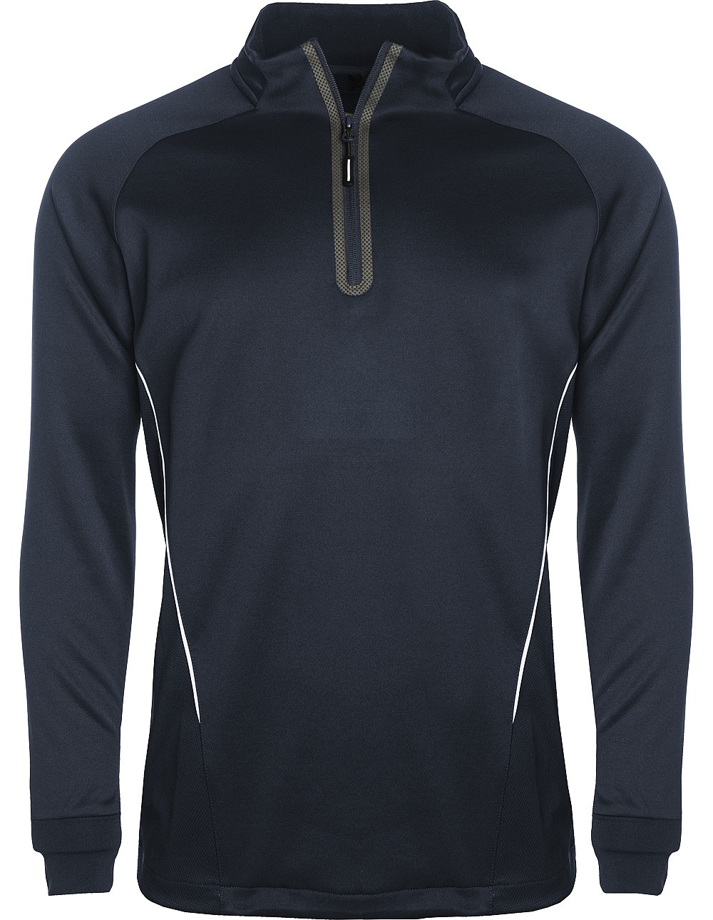 navy/white Qrt zip training top aptus