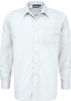 white classic shirt long sleeve