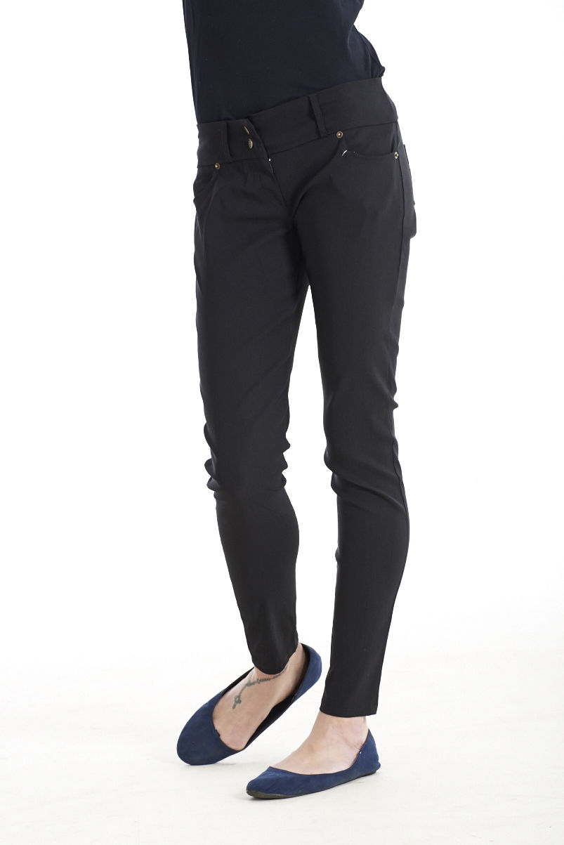 Super skinny Fit black trouser