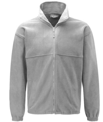 Polar Fleece Jacket Grey