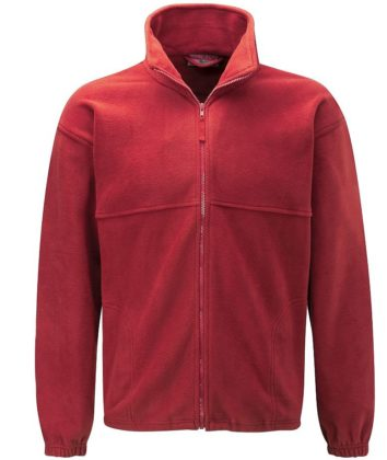Polar fleece Jacket red