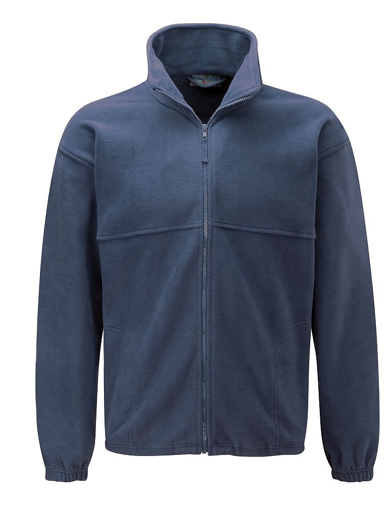 Polar fleece jacket navy