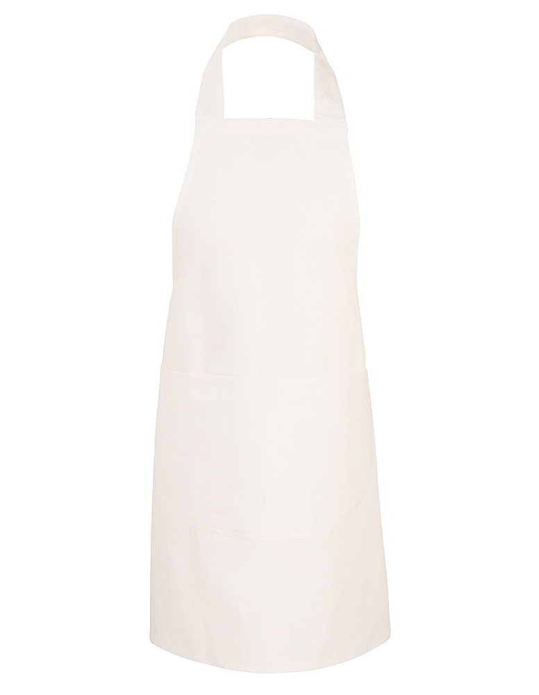 White school apron