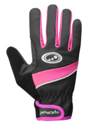Optimum Ladies Glove Black/Pink