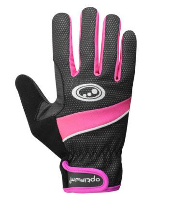 Optimum Ladies Glove Black/Pink