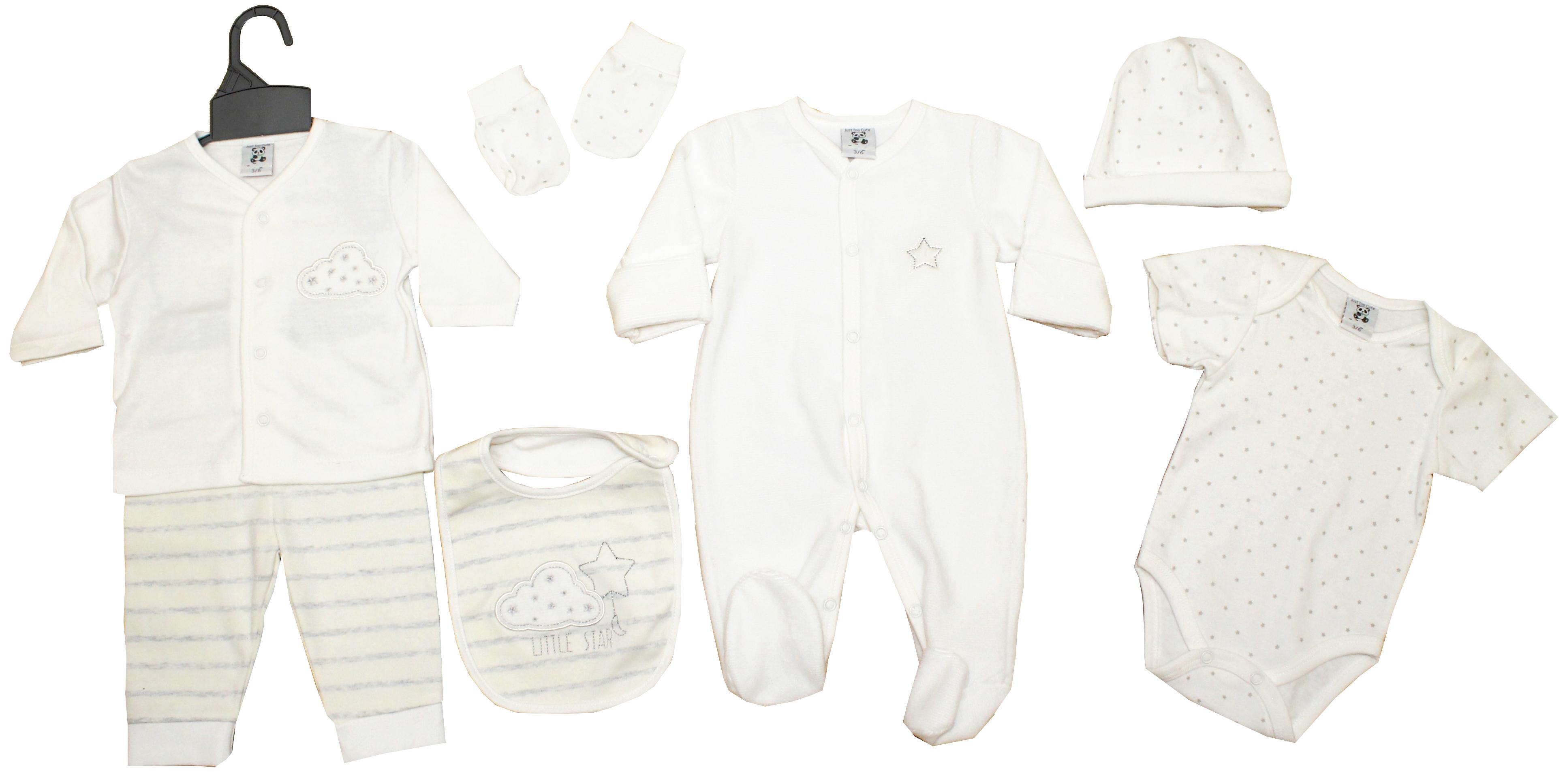 e202bbfac Baby's 7 Piece set-Little Star – 4 Direct Uniforms
