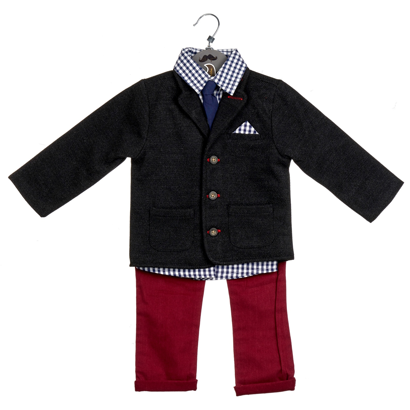 cf5c7446d ... SetsBoys Tweed Blazer Outfit 6-24mth. 🔍. Out Of Stock