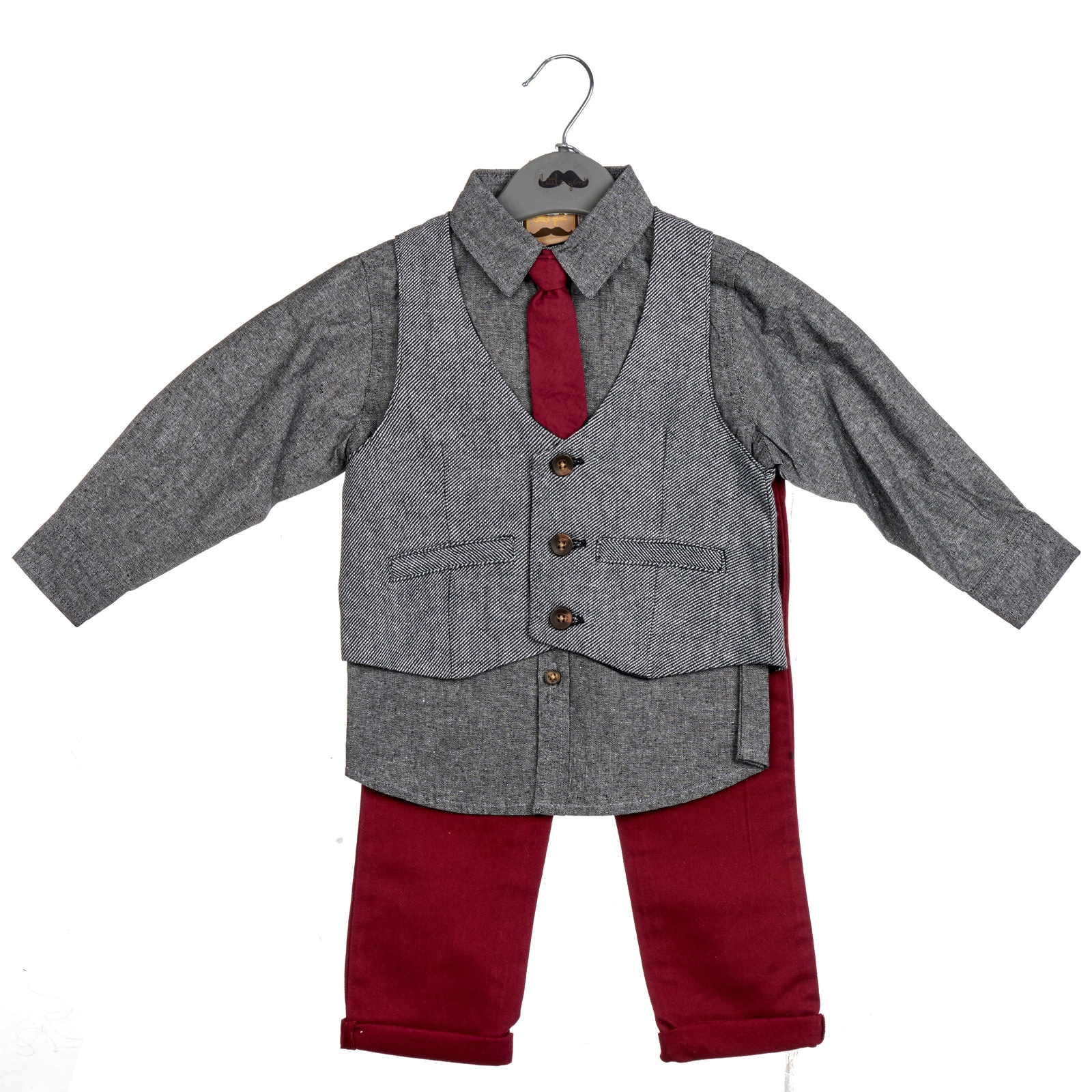 827e75147 Boys Tweed Waistcoat outfit 6-24mth – 4 Direct Uniforms